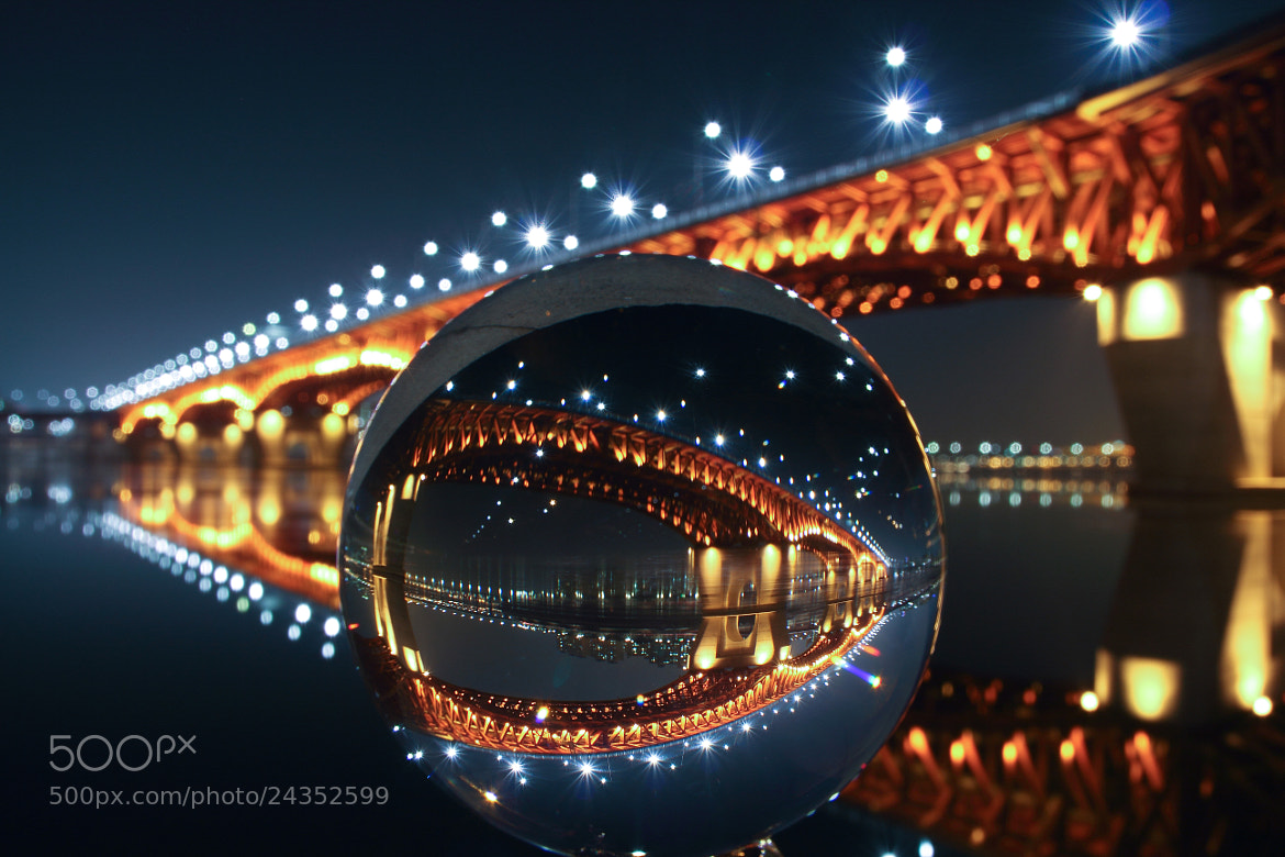 Photograph Seongsu Bridge crystal ball by Dong Hyeon Kim on 500px