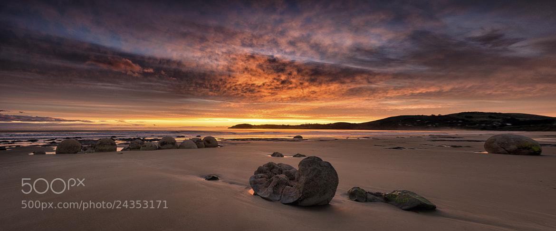 Photograph Moeraki Sunrise by Jay Daley on 500px