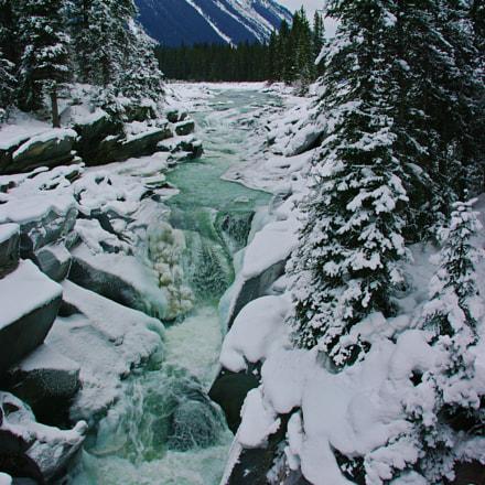 Early Winter Falls, Pentax K20D, smc PENTAX-DA 18-250mm F3.5-6.3 ED AL [IF]