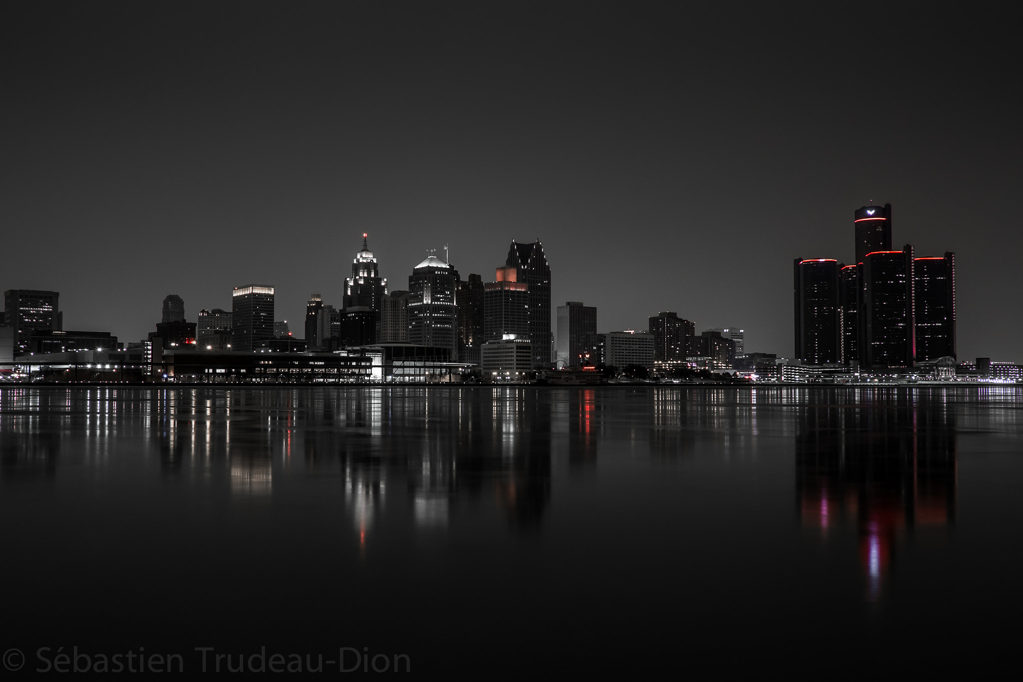 Photograph Detroit Skyline by Sébastien Trudeau-Dion on 500px