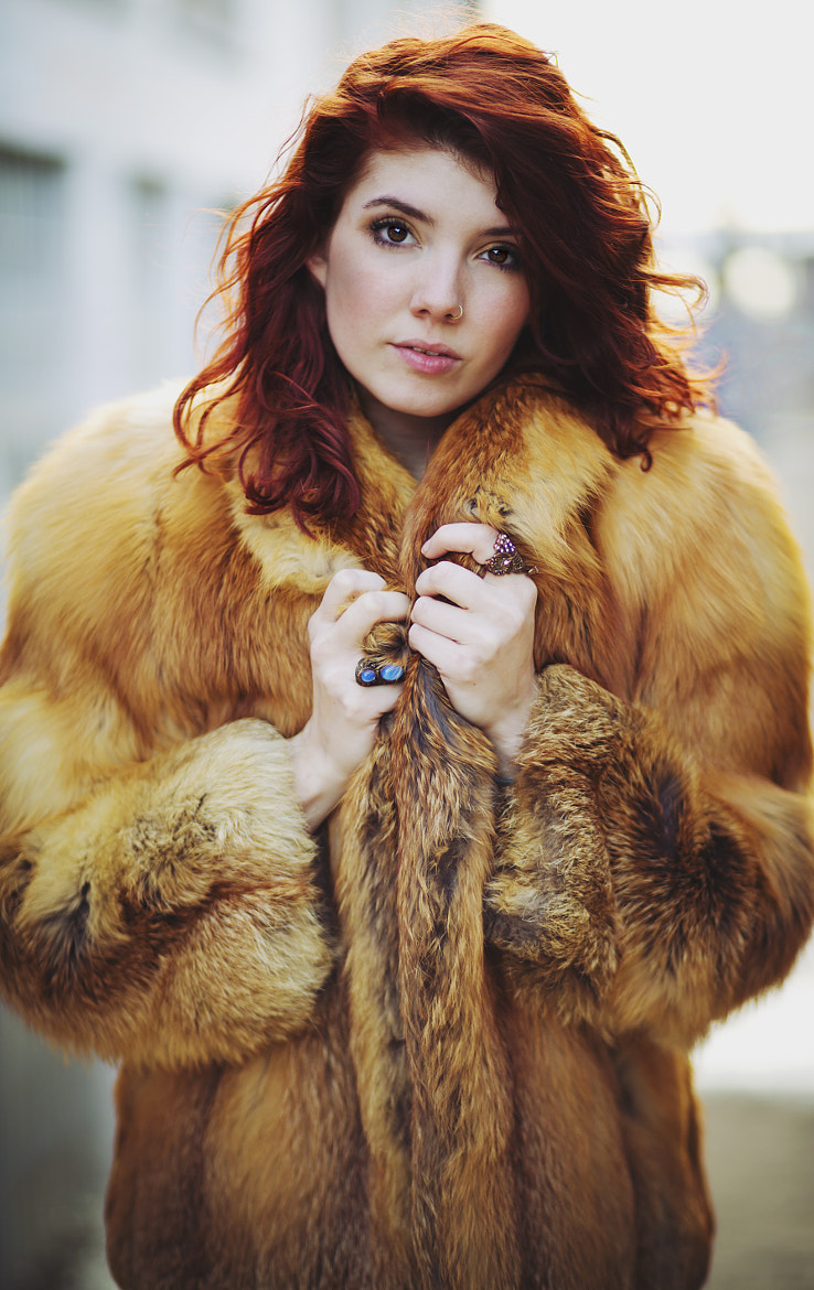 Photograph Loryn In Fur by Alyssa Rose on 500px