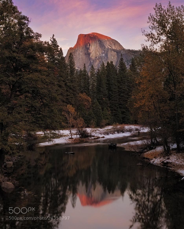 Photograph Half Dome Of Yosemite, California by Joseph Trinh on 500px