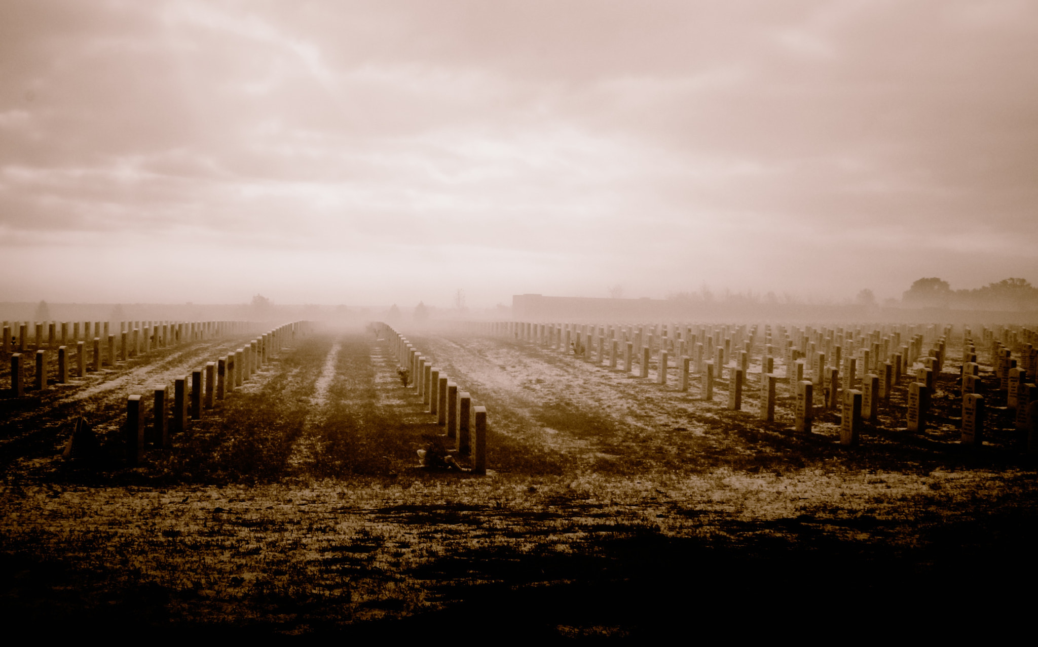 Photograph Graves In The Mist by Bradley Gordon on 500px