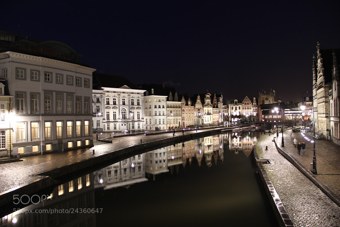 Photograph Ghent by night by Katja Sen on 500px