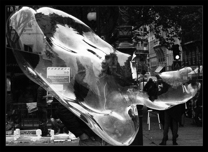 Photograph Soap bubble Saint-Michel by Grazyna Letellier on 500px