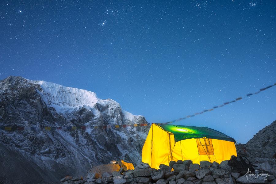 Tea House on the way to Larkya La pass (5,160 m) by Anton Jankovoy on 500px.com