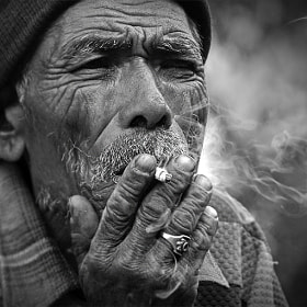 Smoker by Mohan Duwal (mkduwal)) on 500px.com