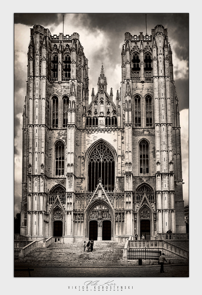Photograph Cathedral of St. Michael and St. Gudula. Brussels by Viktor Korostynski on 500px