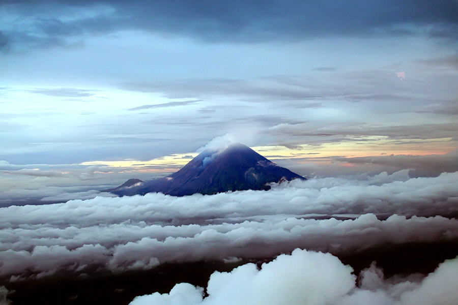 Photograph above the clouds by 3 Joko on 500px
