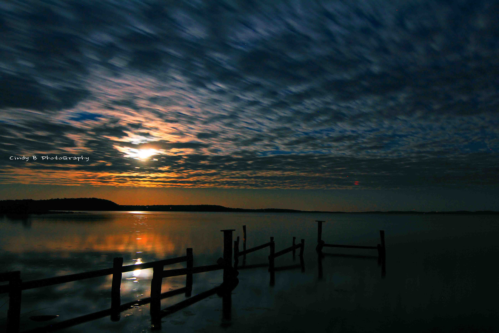 Photograph Wilson Inlet Moon reflection in the Night by Cindy  Pang on 500px