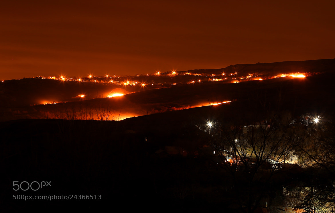 Photograph Burning hill by Velvetflash  on 500px