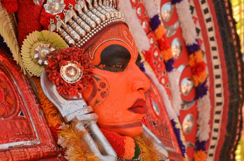Photograph Theyyam by Manikandan A K on 500px
