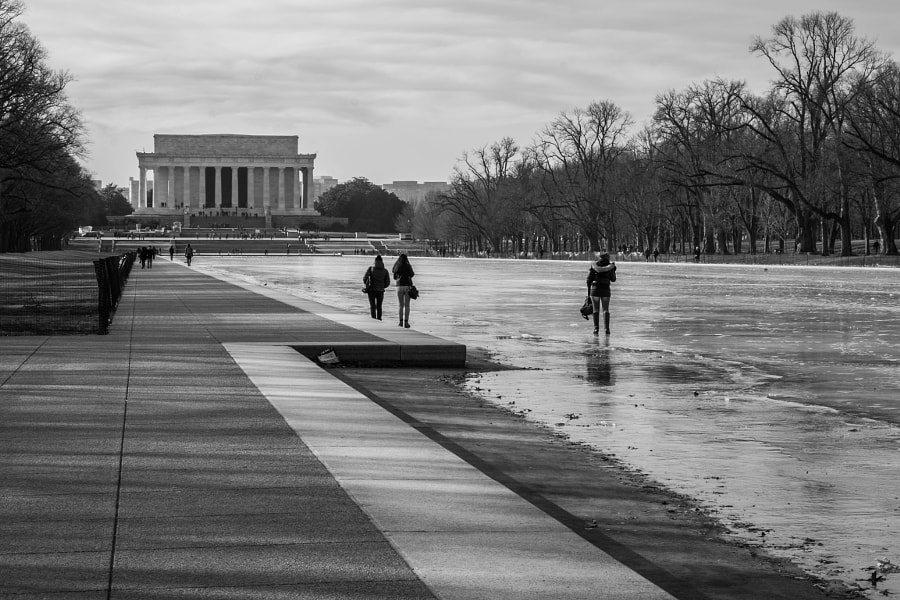 Walking on a Lack of Reflection by Bryan Hughes on 500px.com