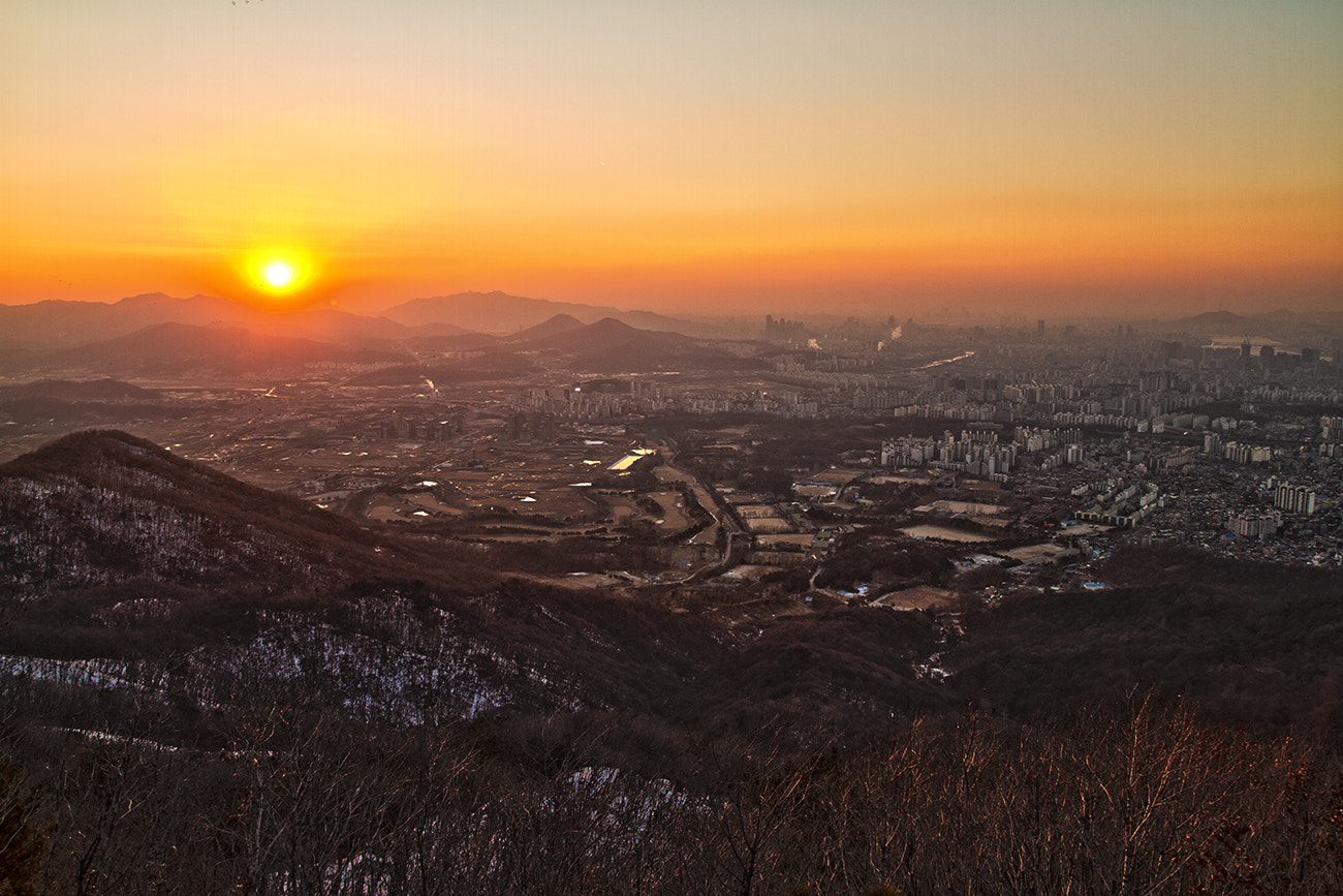 Photograph Sunset @Seoul, Korea by Gu Min Jeong on 500px