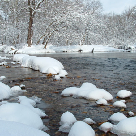 Snow Mounds, Fujifilm FinePix S3000