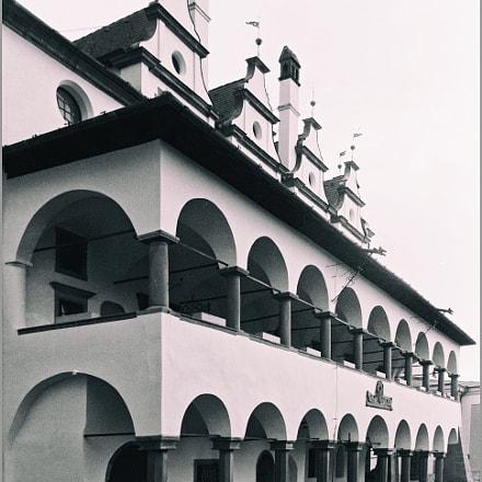 the town hall, Nikon COOLPIX L31