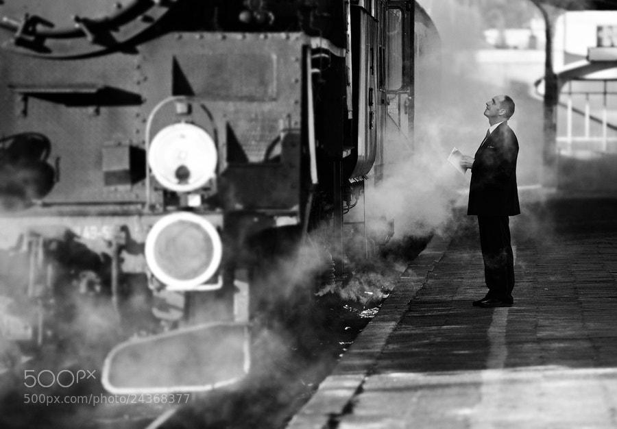 Photograph Station Wolsztyn by Lukasz Malkiewicz on 500px