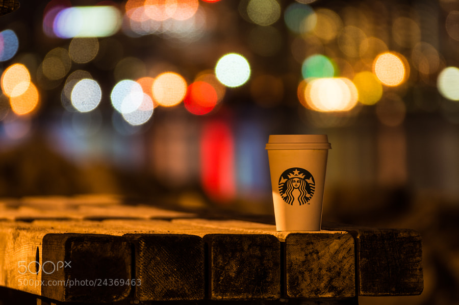Photograph Starbucks Bokehcoffee by Alex Gaflig on 500px