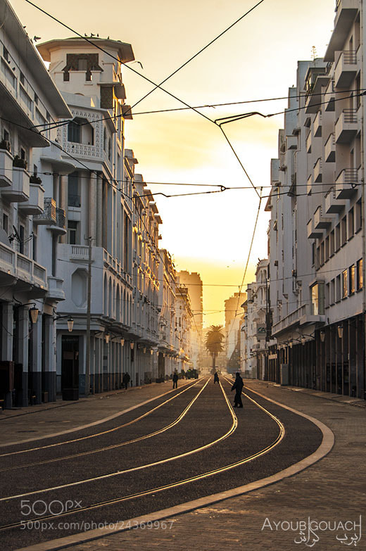Photograph Sunrise at the tram by Ayoub Gouach on 500px