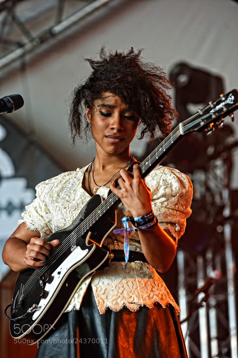 Photograph Liana La Havas by Luuk Denekamp on 500px