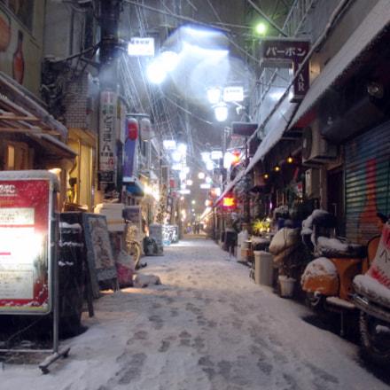 Snowy Local Street of, Pentax K-X
