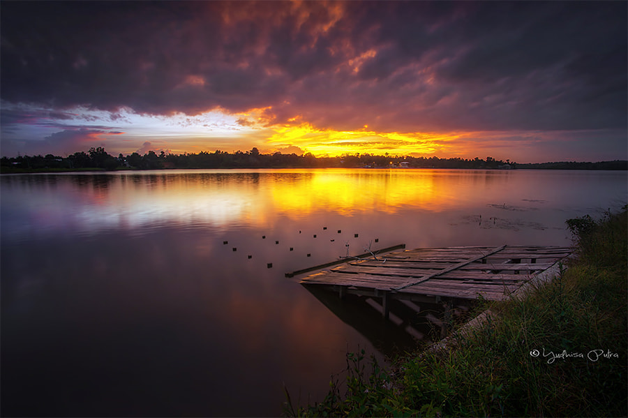 Photograph Magnificent Sunset by Yudhisa Putra on 500px