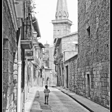 Olite's street