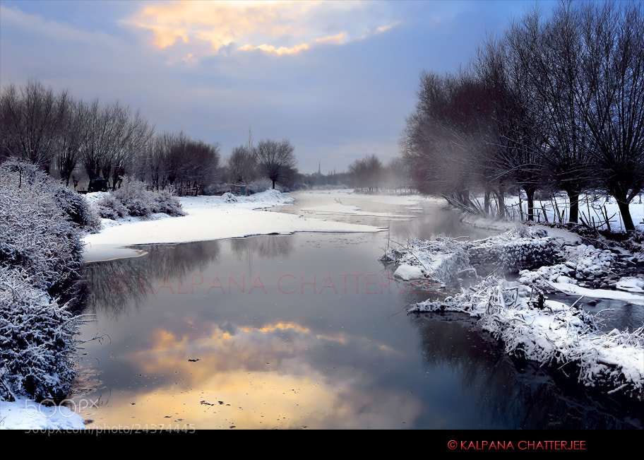 Photograph FROZEN REFLECTION by KALPANA  CHATTERJEE on 500px
