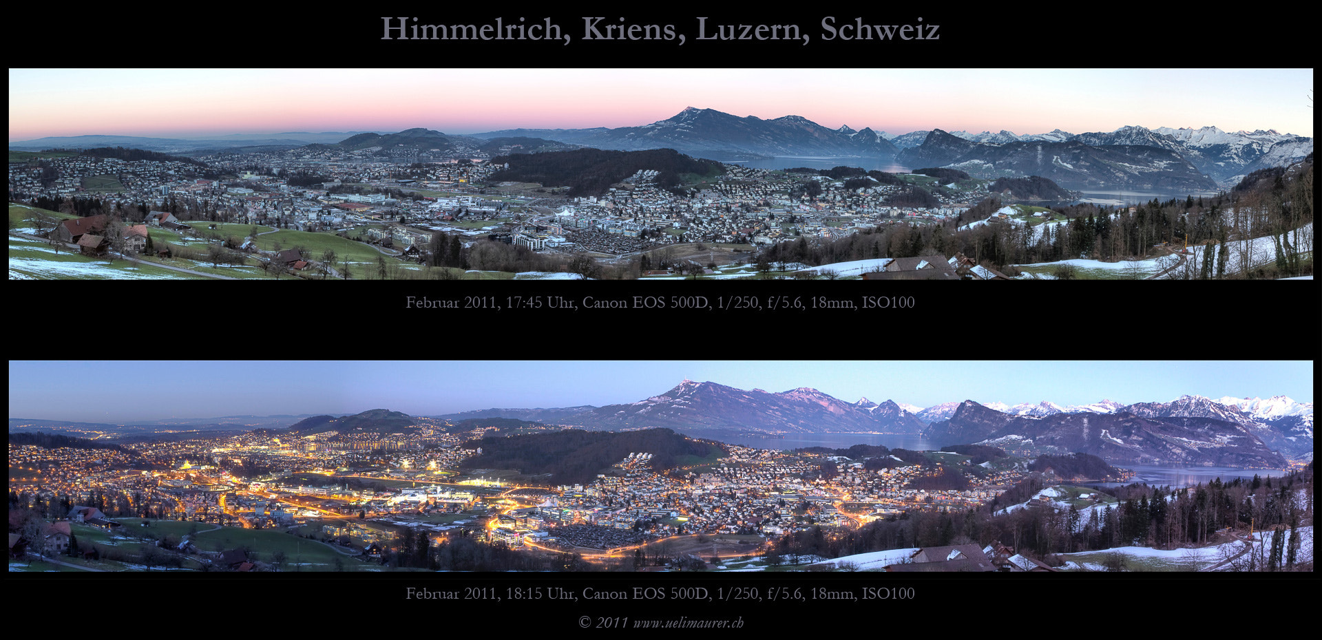 Photograph Himmelrich, Luzern by Ueli Maurer on 500px