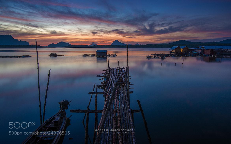 Photograph Fisherman Village by Peerakit Jirachetthakun 5392 on 500px
