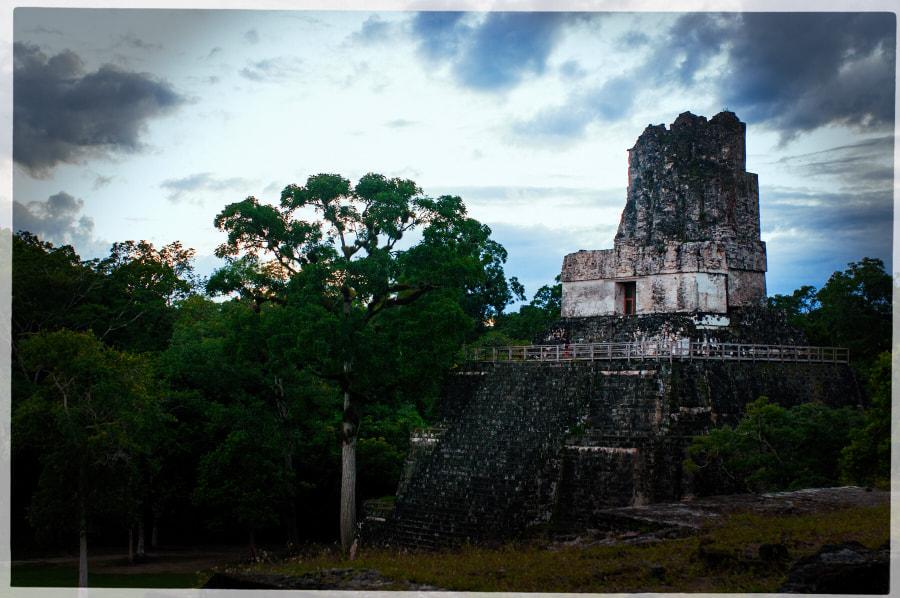 Tikal Guatemala von Cattiva Kat auf 500px.com