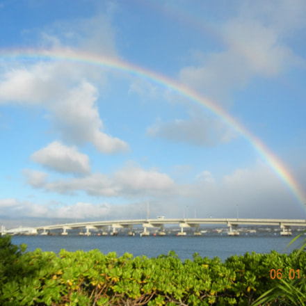 Pearl Harbour Bridge, Nikon COOLPIX S8100
