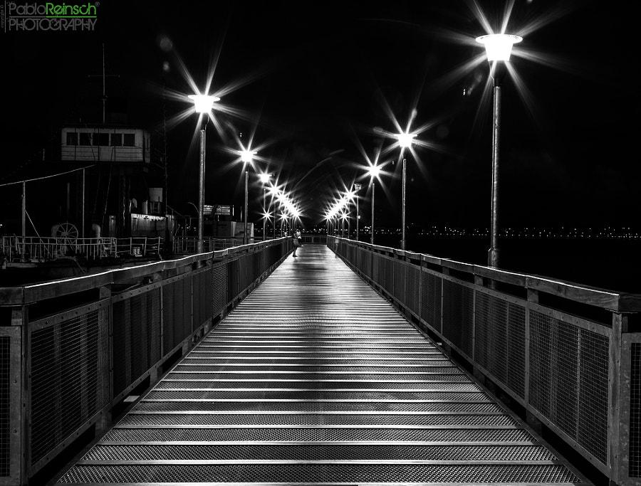 Silver footbridge.-
