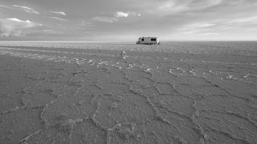 Airstream on the Salt Flats by Nancy Lundebjerg on 500px.com