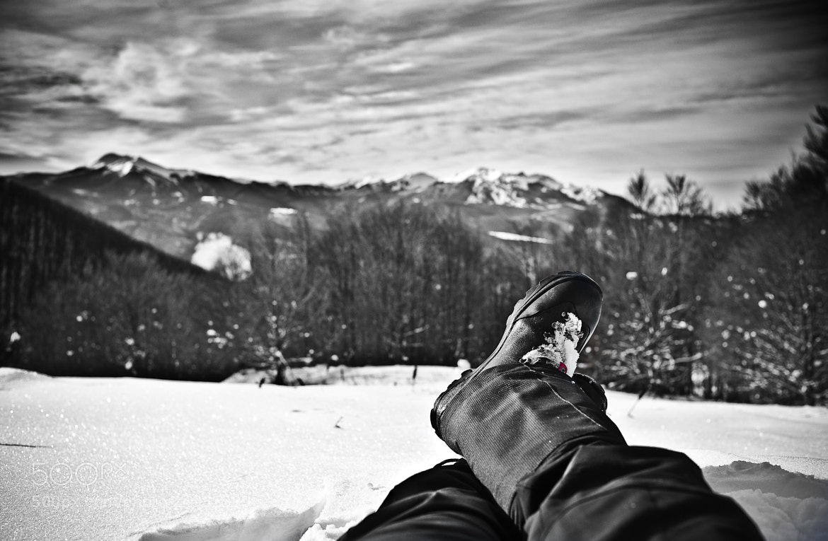 Photograph Relax on snow by Antonio Cutrona on 500px