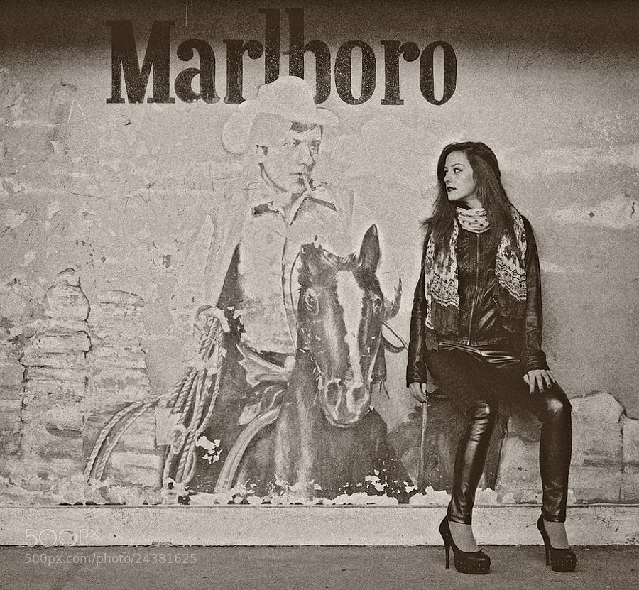 Photograph Marlboro girl by Mladen Parvanov on 500px