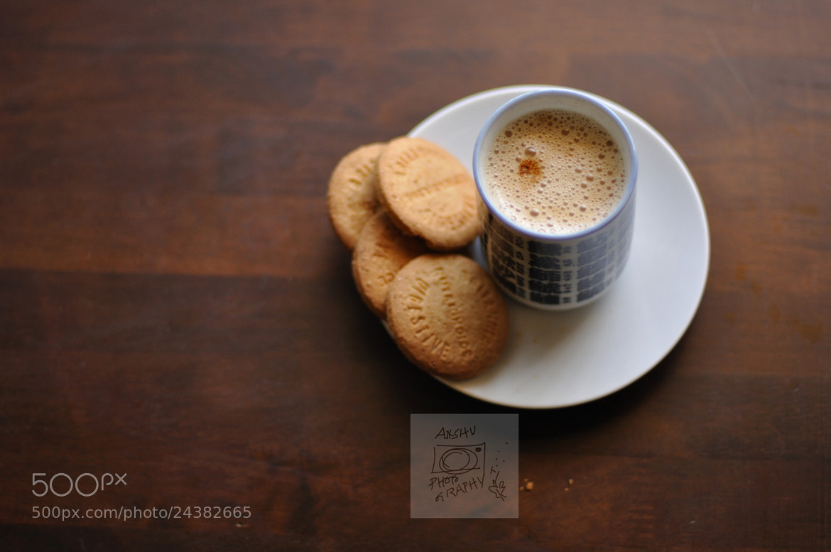 Photograph Day 25.365 - Coffee with Biscuits by Anshu A on 500px