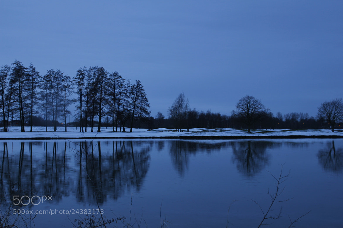 Photograph Blue hour by Greta Dierckx on 500px