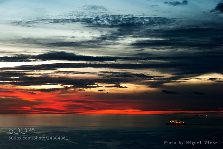 Photograph Scratched Sky by Miguel Vitor on 500px