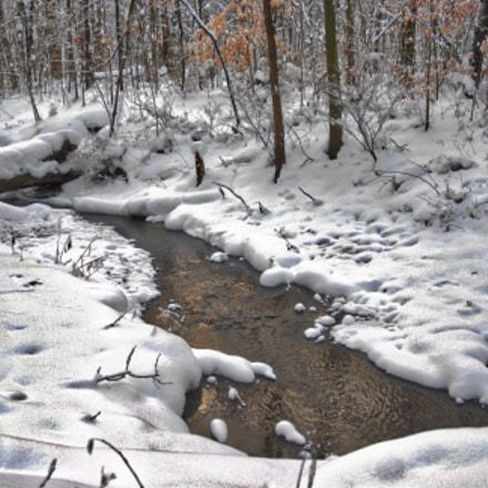 Winter Creek, Nikon D200, Sigma 24-60mm F2.8 EX DG
