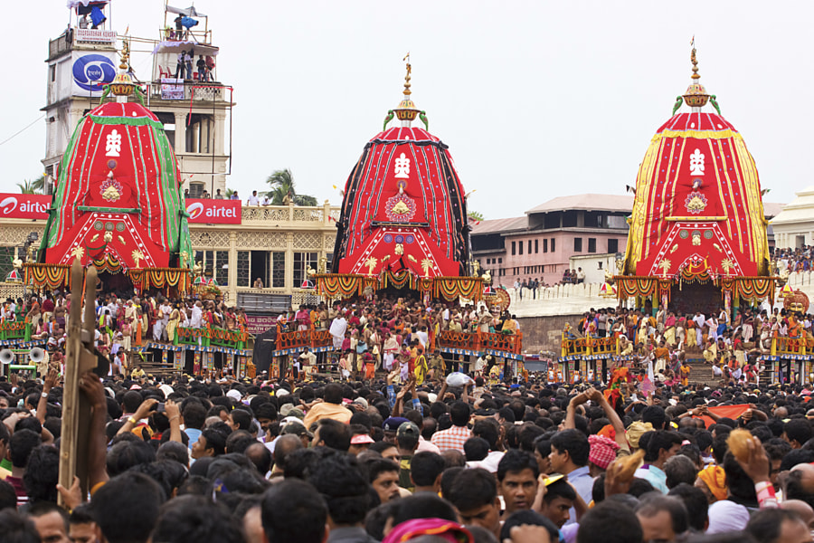Photograph Rath Yatra, Puri by Birashis Sarkar on 500px