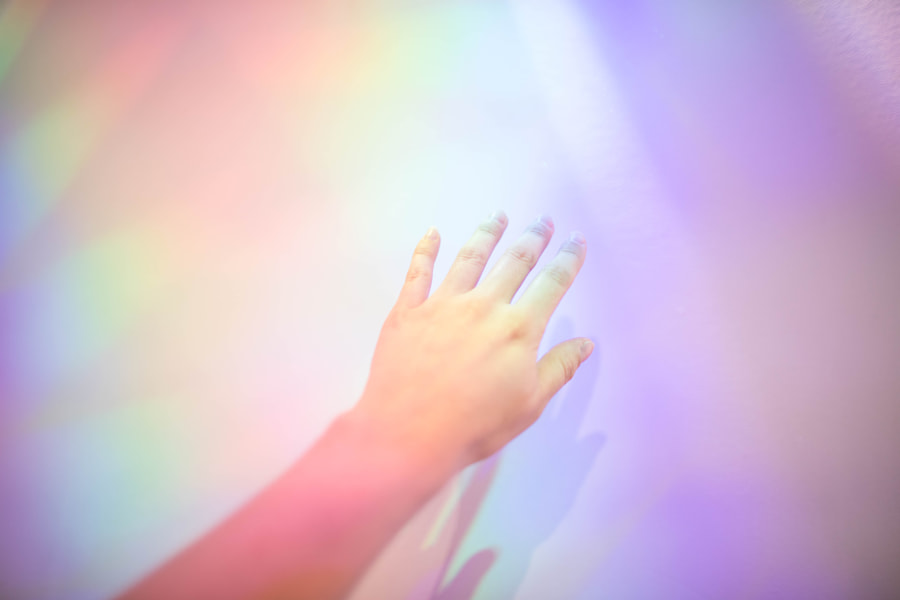 Rainbow Hand by Comet West on 500px.com