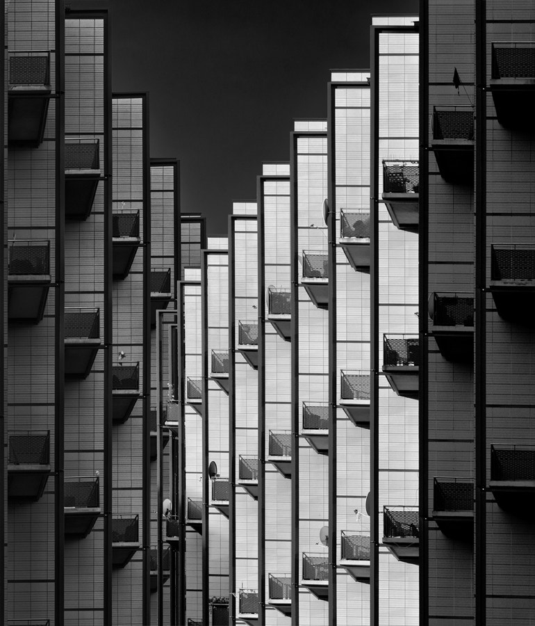 Photograph Rhythm of light and shadows by Jef Van den Houte on 500px