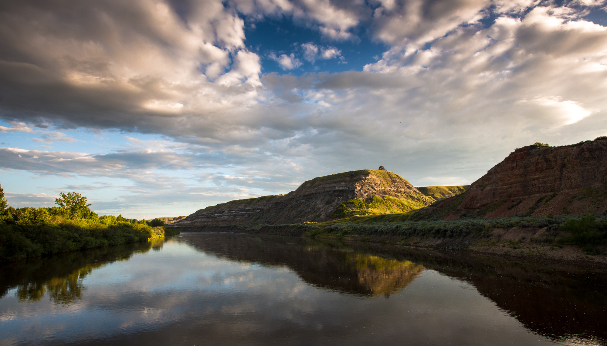 Photograph Red Deer River Rising by Dave Brosha on 500px