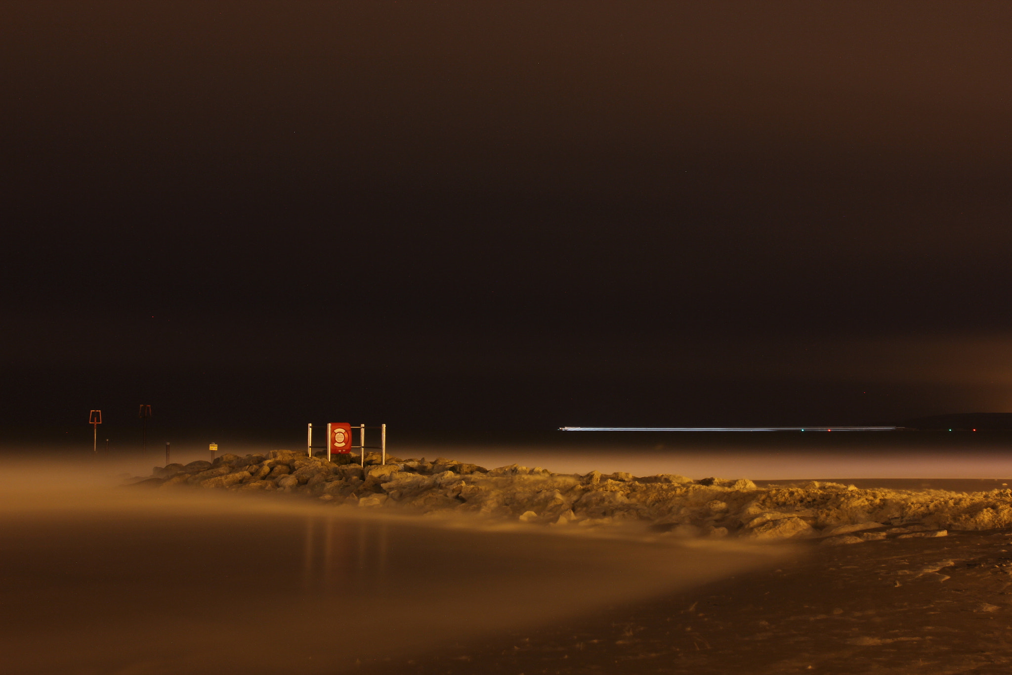 Photograph Sandbanks Long Exposure by Ben Alford on 500px