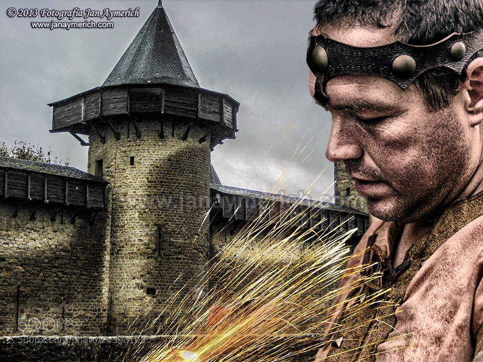 Photograph Le forgeron médiéval de Carcassonne by Jan Aymerich on 500px