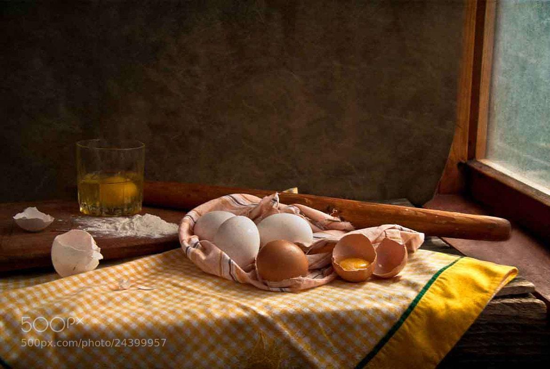 Photograph egg still life by Татьяна Канаева on 500px