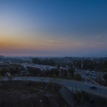 Sunset over Islamabad, Canon EOS 5D MARK III