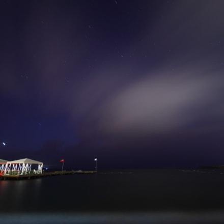 Turgutreis night, Canon EOS 500D, Sigma 10-20mm f/4-5.6