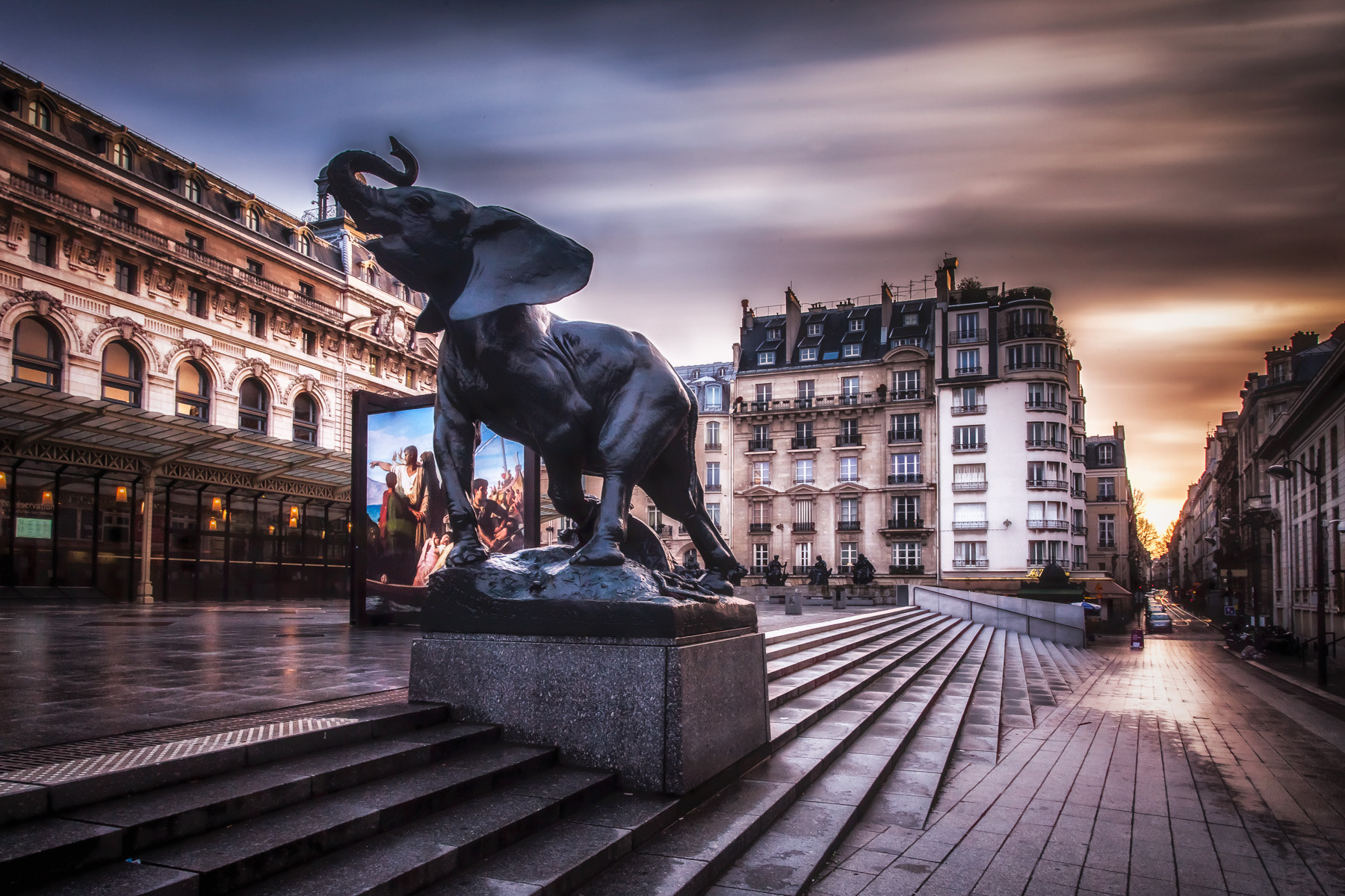 Photograph Orsay Museum Paris Long Exposure by Ramelli Serge on 500px